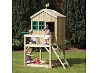 TP Forest Cottage Outdoor Playhouse, Childrens Garden Wendy House - RRP £300+