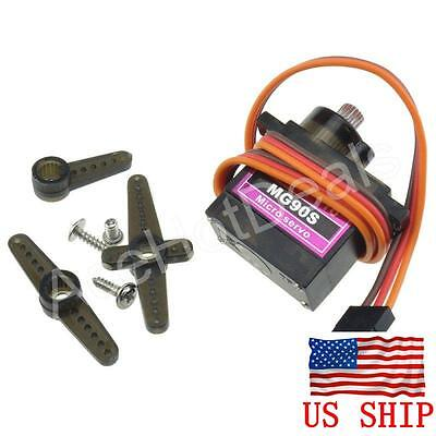 Mg90s Metal Gear Micro Servo Boat Car Plane For Trex Align 450 Rc Helicopter