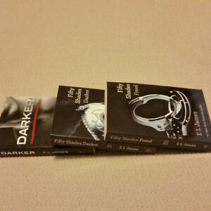 Fifty Shades of Grey 3 Book Set