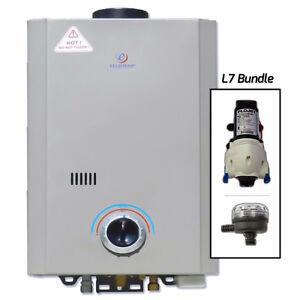 Eccotemp L7 12V pump & strainer - 20% OFF PROMO CODE