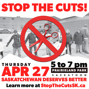 All Out to Stop the Cuts! Protest the Premier's Dinner!