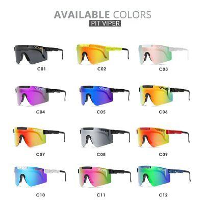 Original Pit Viper Sport google TR90 Polarized Sunglasses for men/women (Viper Sunglasses)