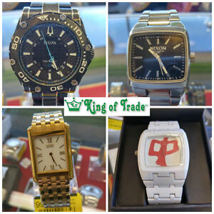 Assorted Watches, sophisticated to easy every day! King of Trade