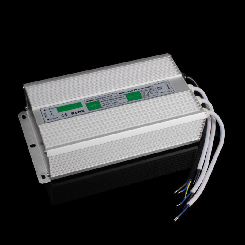 30W DC12V LED Trafo Netzteil Transformator Adapter f.Stripe Wasserdicht IP67 DHL