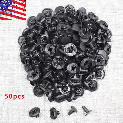 50 Pcs Front Fender Push-Type Retainer Clips 91501-S04-003 for Honda Acura New