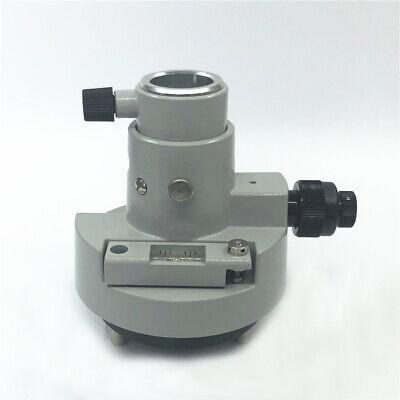 New Gray Three-jaw Tribrach Adapter Woptical Plummet For Topconsokkia Prisms