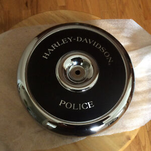 Harley Police  air cleaner cover for Evo