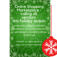 Seeking Canadian Vendors for Online Marketplace