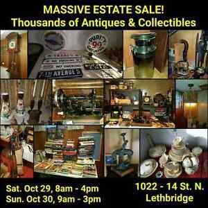One of a Kind antique Estate sale Lethbridge  AB  Oct 29,30