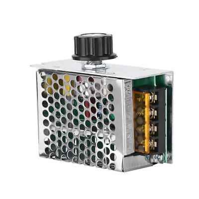 4000w Ac 0-220v Scr Motor Speed Controller Module Voltage Regulator Dimmer