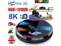 2020 H96 MAX X3 S905X3 Android 9.0 Smart Set Top Box 4GB 128GB TV Box 5G WiFi