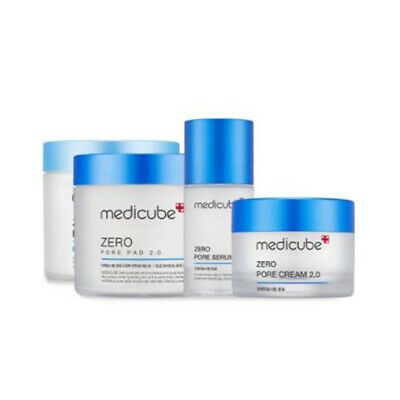 MEDICUBE Zero Line 2.0 Triple Set Pad & Serum & Cream Pore Tightening Gift Korea