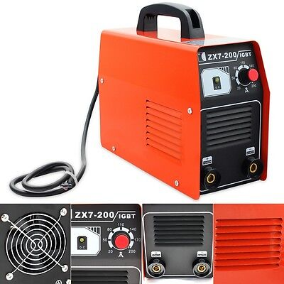 220v Zx7-200 Igbt Dc Inverter Welding Portable Mma Arc Welder Soldering Machine