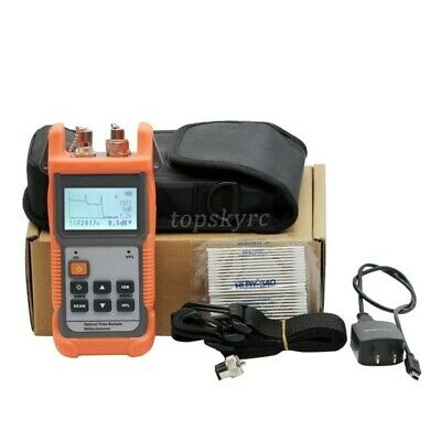 Optical Time Domain Reflectometer Mini Otdr With Built-in Vfl 1310nm 1550nm Tp