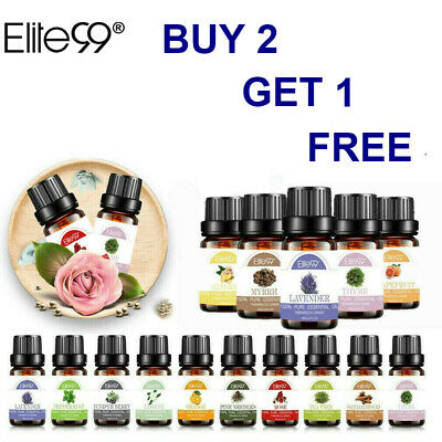 Elite99 Essential Oil 100% Pure Nature Aroma 10ml For Essent