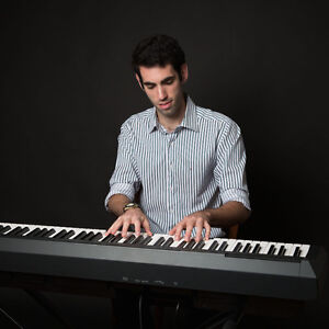 Pianist and accordionist for weddings, cocktails, and parties!
