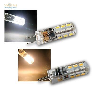 3 x LED-Stiftsockellampe G4 24 SMD LEDs 100lm warmweiß Leuchtmittel 12V Birne
