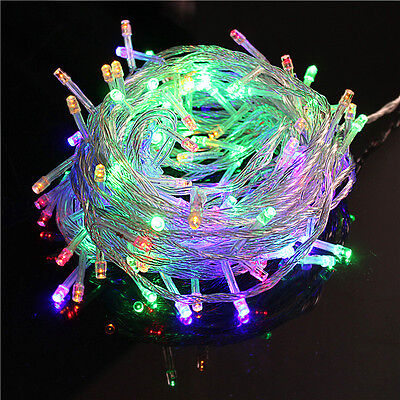 15M 200 LED Christmas Tree Fairy String Party RGB Lights Waterproof Outdoor Lamp ()