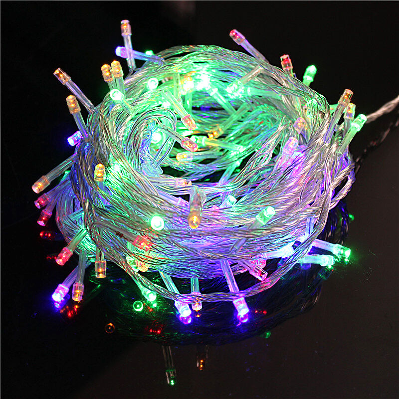 15M 200 LED Christmas Tree Fairy String Party RGB Lights Wat