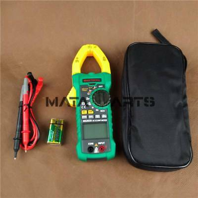 Mastech Digital Clamp Meter B0296 Ms2015a Acdc Av Res Cap Freq True Rms 1000a