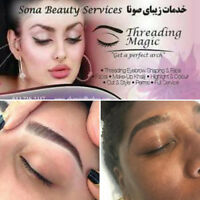 épilation au fil  /Eyebrow threading