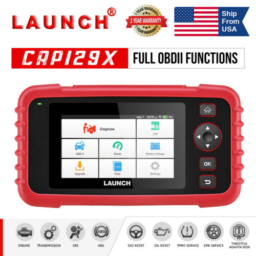 Auto Diagnostic Tool OBD2 Code Reader Car Engine ABS Airbag Transmission Scanner