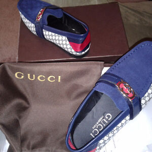 Mens Gucci shoes, never worn.200$ OFF