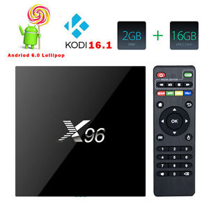 Amlogic S905X X96 2GB 16GB Android 6.0 Marshmallow KODI TV BOX