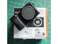 Sony A6000 mirrorless 24MP APS-C camera (body only)