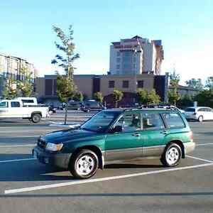 1998 Subaru Forester - Studded Winters