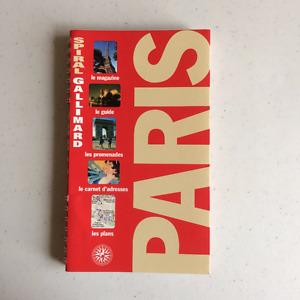 Guide de voyage Spiral Gallimard PARIS
