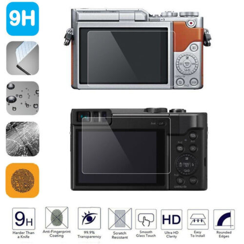 9H Clear Anti-scratch Tempered Glass Screen Protector Film for Panasonic LX100