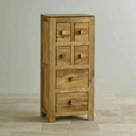 Solid wood Livingroom tall drawers