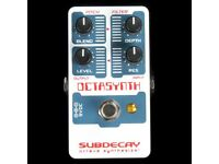 Subdecay Octasynth pedal for guitar