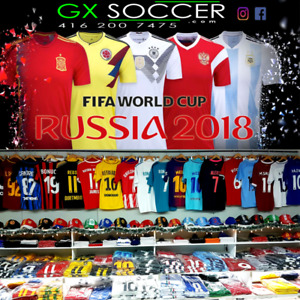 SOCCER JERSEYS! MESSI, RONALDO, SALAH, NEYMAR, WORLD CUP JERSEYS