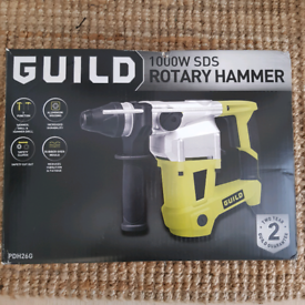 New Guild 1000W SDS Rotary Hammer