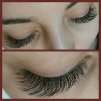 Quality eyelash extension!SPECIAL75$TAXES INCLUDED