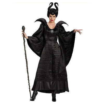 Sleeping Beauty Witch Costume (Maleficent Costume Black Christening Gown Sleeping Beauty Witch Fancy)