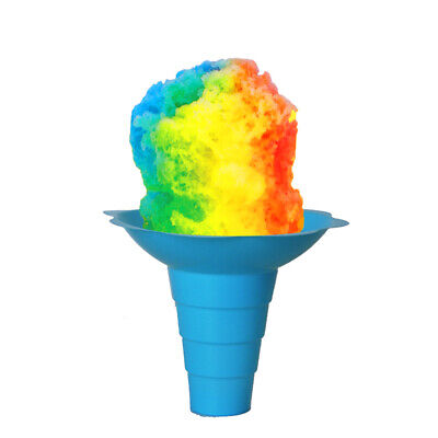 Large Shaved Ice Sno Cone Flower Cups 12 Oz 800 Count Blue