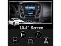 10.4'' Tesla Style Vertical HD Screen Android 6.0 Car GPS Navigation For FORD FOCUS