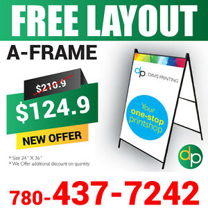 Amazing Sale, Printing Services, Flyers, Signs, Banners, Decals. Edmonton Edmonton Area image 5