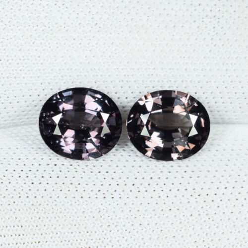 2.45Cts Best Luster Natural Color Change Garnet Unheated Oval Pair...!!!!