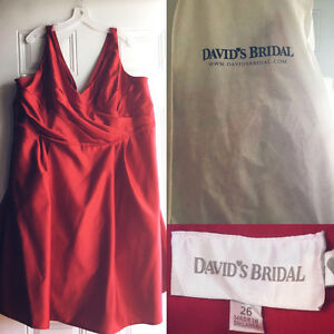 Davids bridal plus size dress