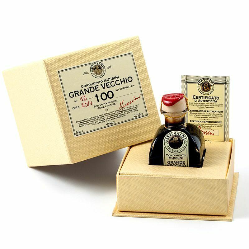 Aceto Balsamico Condimento Nobile Grande Vecchio 100 Anni Mussini Serie Limitata