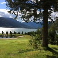 NELSON BC TWO MILE LAKE FRONT PROPERTY