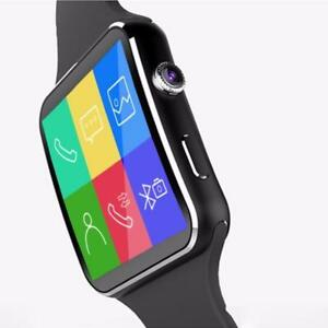 Vigorousbit.com NK6 Smartwatch Curved Display (Camera Build In Call or text )sport Function  8GB