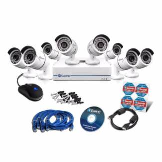 SWANN NVR Security Monitor 2TB, 8 x Cameras CCTV SWNVK-870858 Belmore Canterbury Area Preview