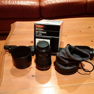 Canon EF 135mm f/2.0L USM- Used Two Volleyball Seasons