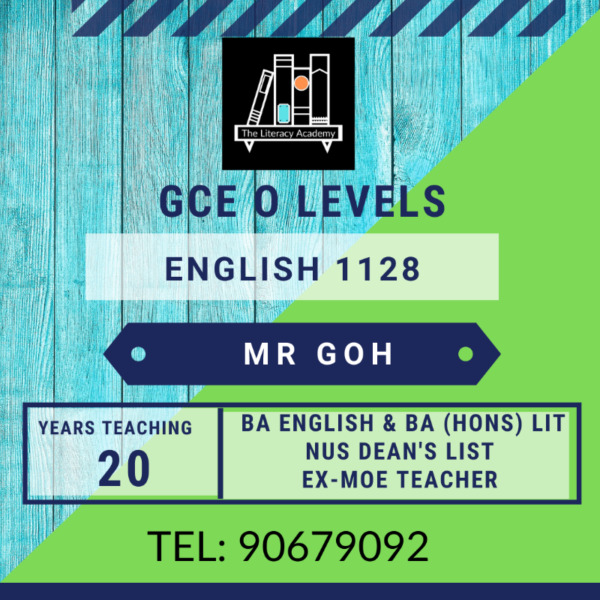 O level English Tuition (all locations)