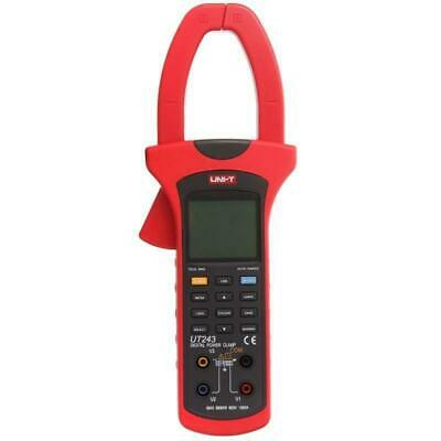 Ut243 Uni-t Three Phase True Rms Harmonic Analysis Power Clamp Meter Usb Data